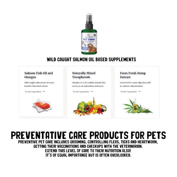 Preventative Care Products for Pets
